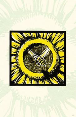 Sunflower & Bee by Ryo Takagi