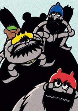 The Three Bandit Brothers by Ryo Takagi