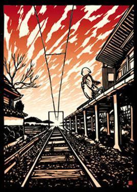 Train Station by Ryo Takagi