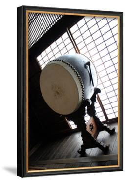 Taiko Drum That Was Inside of the Temple by Ryuji Adachi
