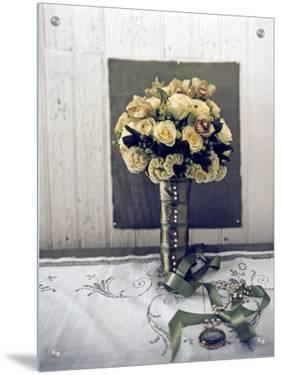 Bouquet of White Roses by S.B.