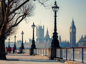 Big Ben and Houses of Parliament in London, UK by S Borisov