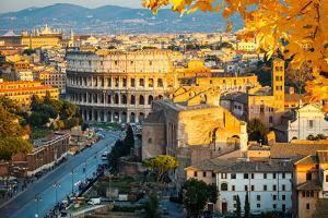 View on Colosseum in Rome, Italy by S Borisov
