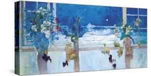 Ocean Moonlight by S^ Burkett Kaiser