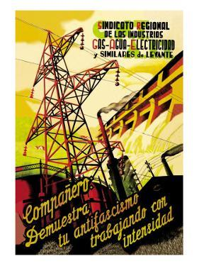 Regional Syndicate of Oil, Gas and Electric Industries by S. Carrilero