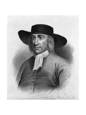 Print after Portrait of George Fox by S. Chinn
