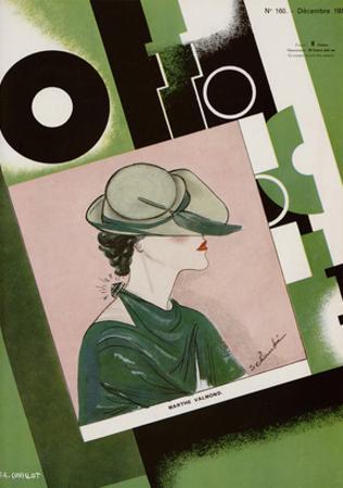 L'Officiel, December 1934 - Marthe Valmont by S. Chompré & A.P. Covillot