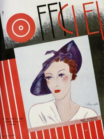 L'Officiel, February 1935 - Marie Alphonsine