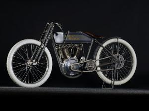 1914 Harley Davidson Board Track Racer by S^ Clay
