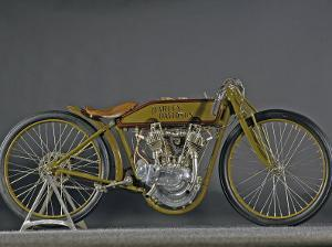 1921 Harley Davidson Board Track Racer by S. Clay