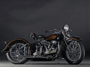 1937 Harley Davidson ELS Knucklehead by S^ Clay