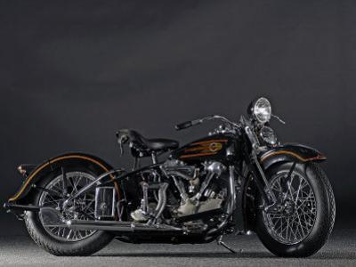 1937 Harley Davidson ELS Knucklehead by S. Clay