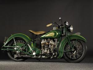 1937 Indian Sport Scout by S. Clay