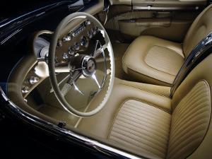 1954 Chevrolet Corvette Interior by S. Clay