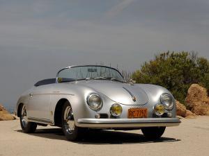 1958 Porsche Speedster 356 1600 Super by S. Clay