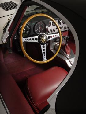 1961 Jaguar E Type Interior by S. Clay