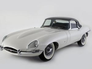 1962 Jaguar E type by S. Clay