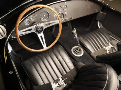 1966 AC Cobra 427 Interior by S. Clay