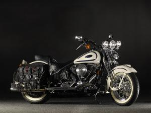 2005 Harley Davidson Soft Tail Springer by S. Clay