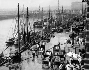 Harbour of Boston, 1931 by S?ddeutsche Zeitung Photo
