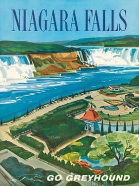 Niagara Falls, Ontario, Canada, New York, USA by S. Fleming