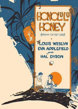 Honolulu Honey - Hawaiian Foxtrot Song by S. S. Hoffman