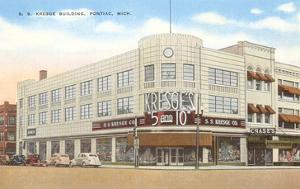 S.S. Kresge Building, Pontiac, Michigan