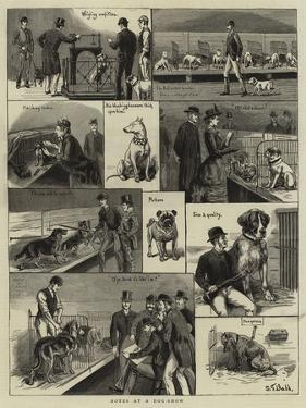 Notes at a Dog-Show by S.t. Dadd