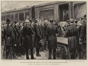 The Funeral of Mr Gladstone by S.t. Dadd