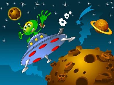 Landing of Aliens