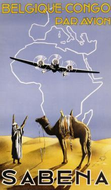 Sabena, Belgique-Congo, c.1930