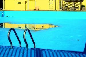 An Empty Public Swimming Pool in the Bronx, New York City by Sabine Jacobs