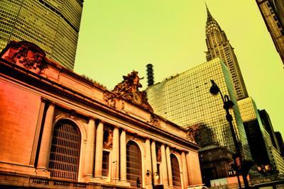 Grand Central Terminal with Chrysler Building, Manhattan, New Yo