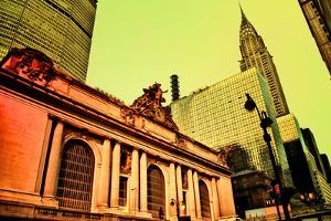 Grand Central Terminal with Chrysler Building, Manhattan, New Yo by Sabine Jacobs
