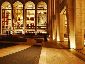Lincoln Center and the Met, New York City by Sabine Jacobs