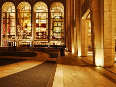 Lincoln Center and the Met, New York City