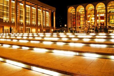 Lincoln Center, Manhattan, New York City, at Night.