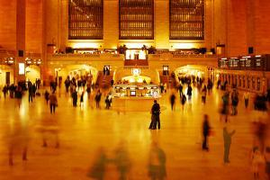 Main Concours in Grand Central Terminal, Manhattan, New York Cit by Sabine Jacobs