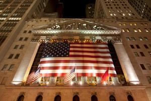 New York Stock Exchange, New York City by Sabine Jacobs