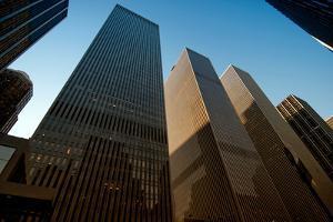 Rockefeller Buildings in Midtown, New York City by Sabine Jacobs