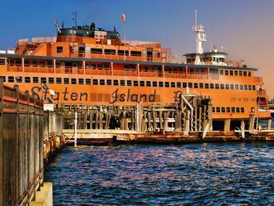 Staten Island Ferry, Manhattan, New York City