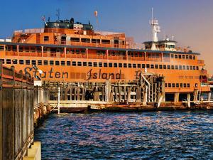 Staten Island Ferry, Manhattan, New York City by Sabine Jacobs