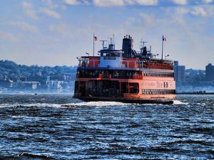 Staten Island Ferry, New York City by Sabine Jacobs