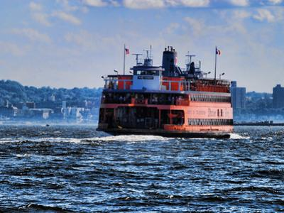 Staten Island Ferry, New York City by Sabine Jacobs