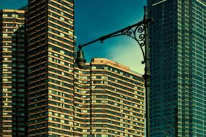 Tall Buildings on Manhattan's West Side, New York City by Sabine Jacobs