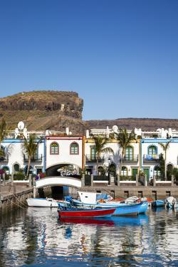 Marina, Puerto De Mogan, Gran Canaria, Canary Islands, Spain by Sabine Lubenow