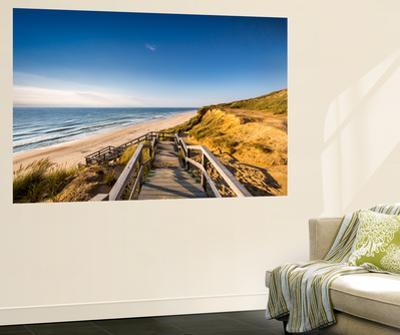 Red Cliff, Kampen, Sylt Island, Northern Frisia, Schleswig-Holstein, Germany by Sabine Lubenow