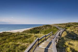 Wodden Path in the Dunes, Wenningstedt, Sylt Island, Northern Frisia, Schleswig-Holstein, Germany by Sabine Lubenow