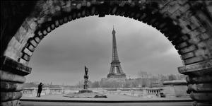 Paris, Under the Bridge by Sabri Irmak