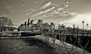 Seine River by Sabri Irmak